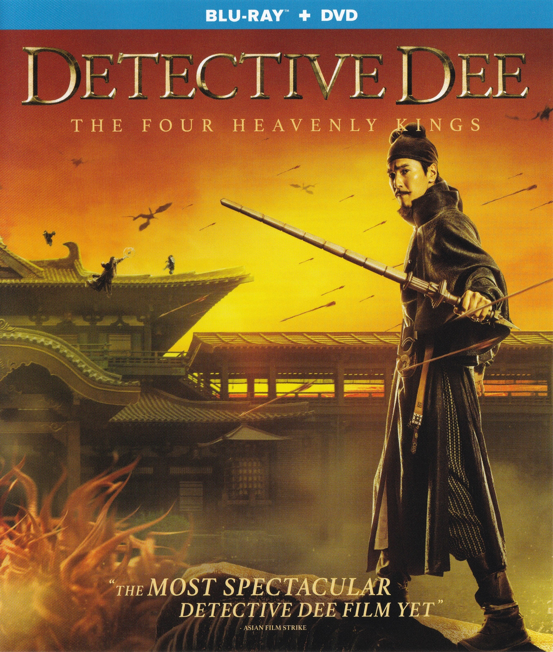 Detective Dee: The Four Heavenly Kings (Blu-ray)(Region Free)