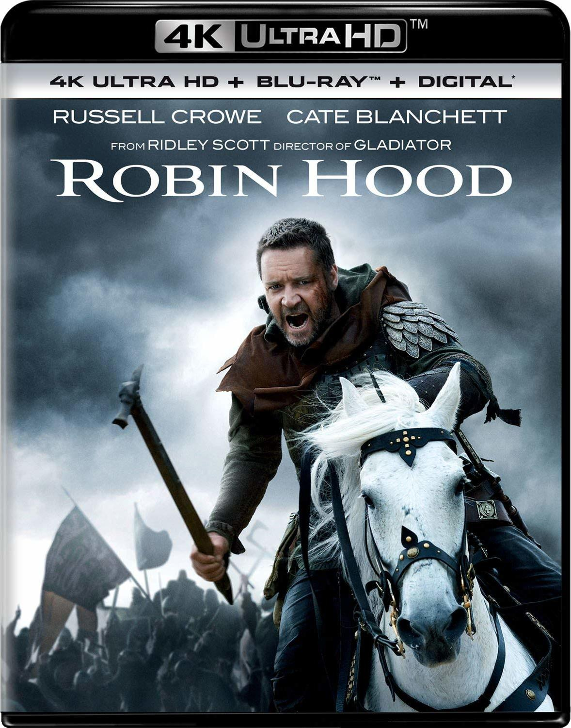 Robin Hood (2010) 4K Ultra HD Blu-ray