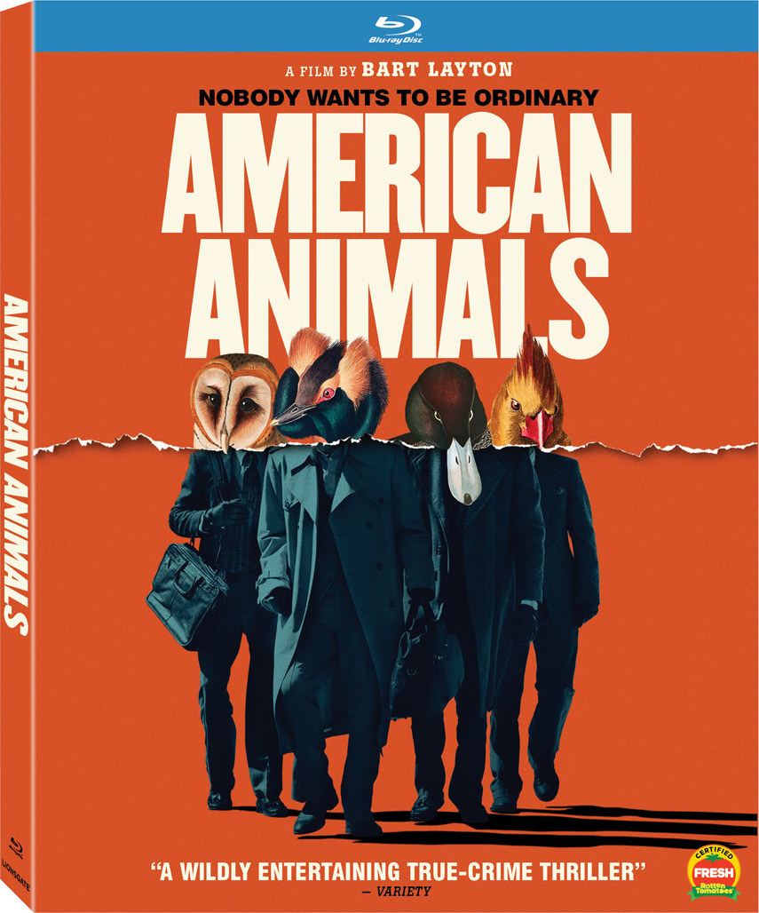 American Animals (Blu-ray)(Region A)