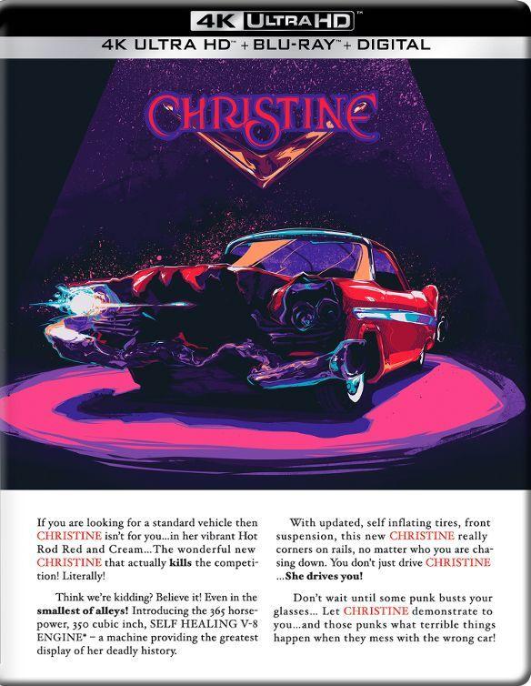 Christine (35th Anniversary)(SteelBook)(1983) 4K Ultra HD Blu-ray