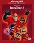 Incredibles 2 3D (Blu-ray)