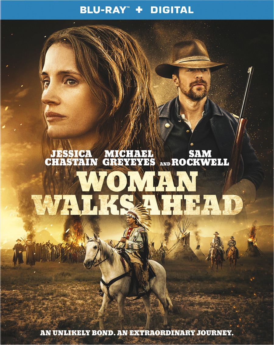 Woman Walks Ahead (Blu-ray)(Region A)