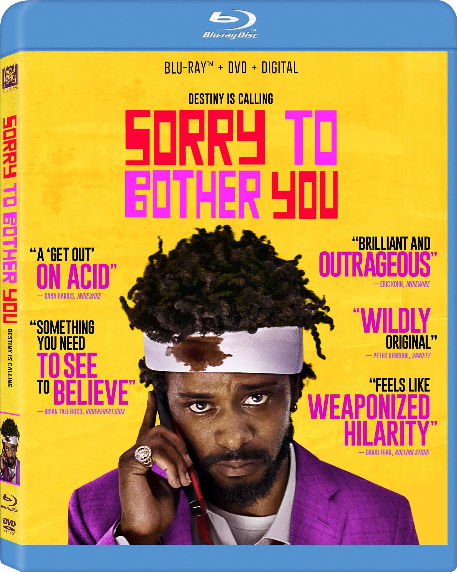 Sorry to Bother You (Blu-ray)(Region A)