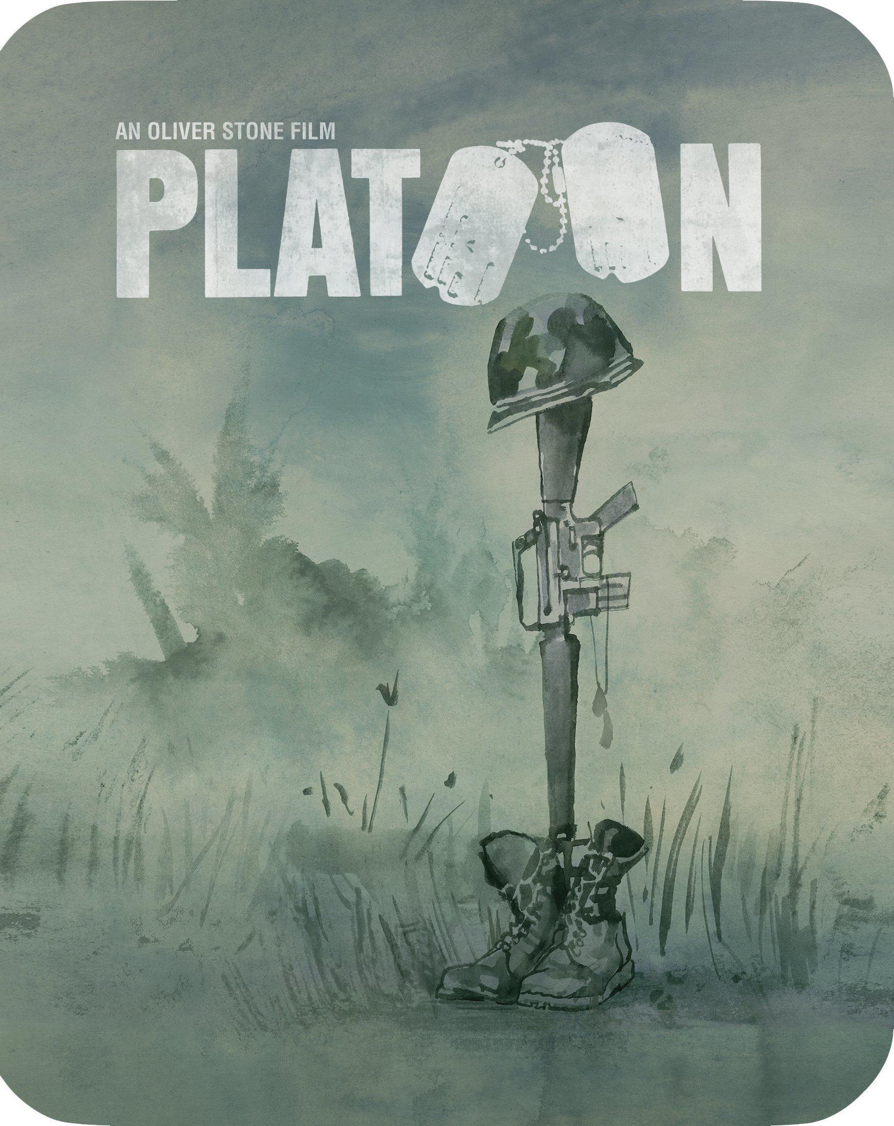Platoon (Limited Edition Steelbook)(Blu-ray)(Region A)