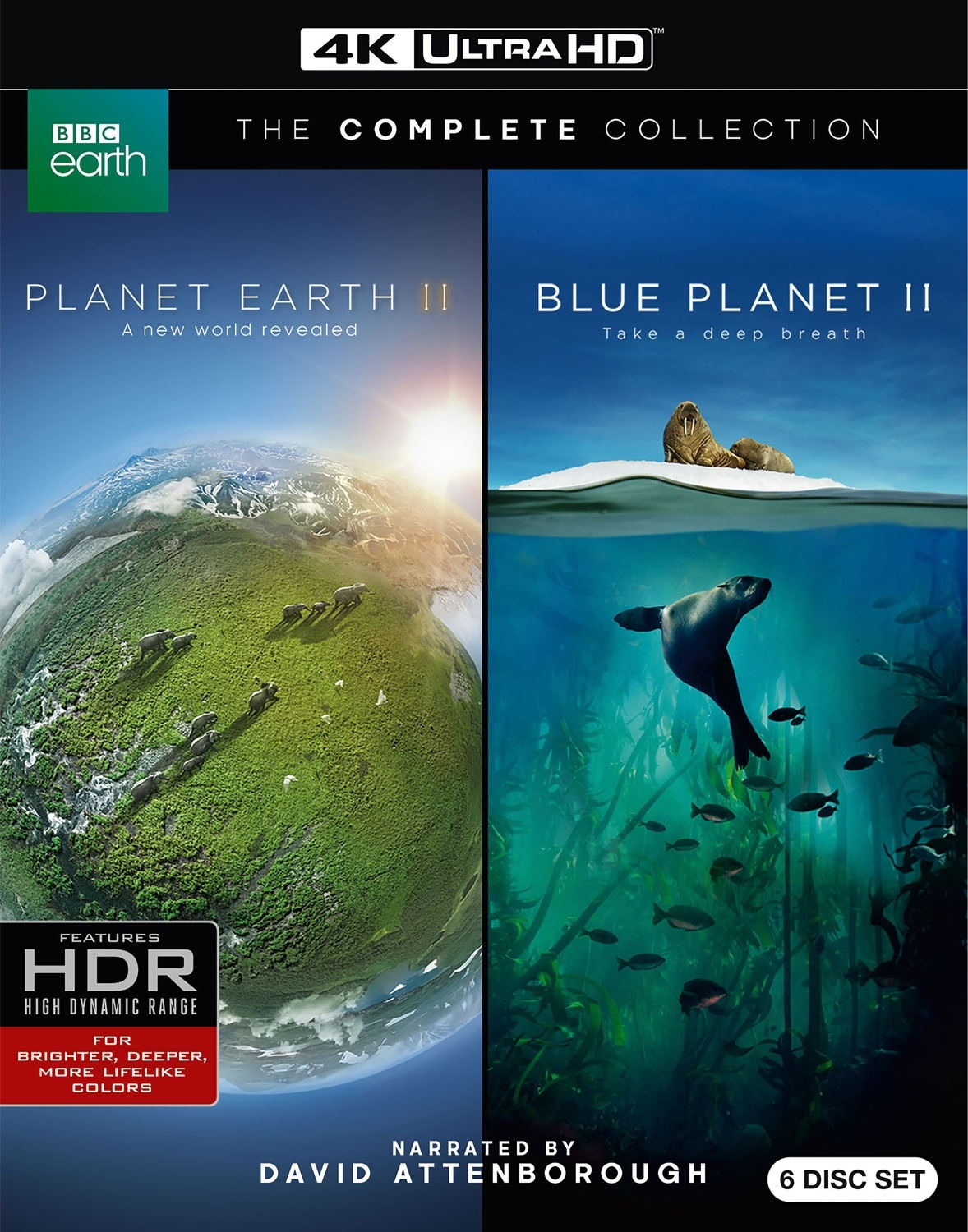 Planet Earth 2 / Blue Planet 2 4K Ultra HD