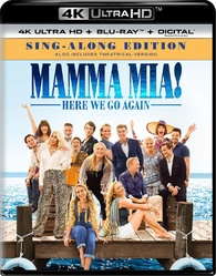 Mamma Mia! Here We Go Again 4K (Blu-ray)