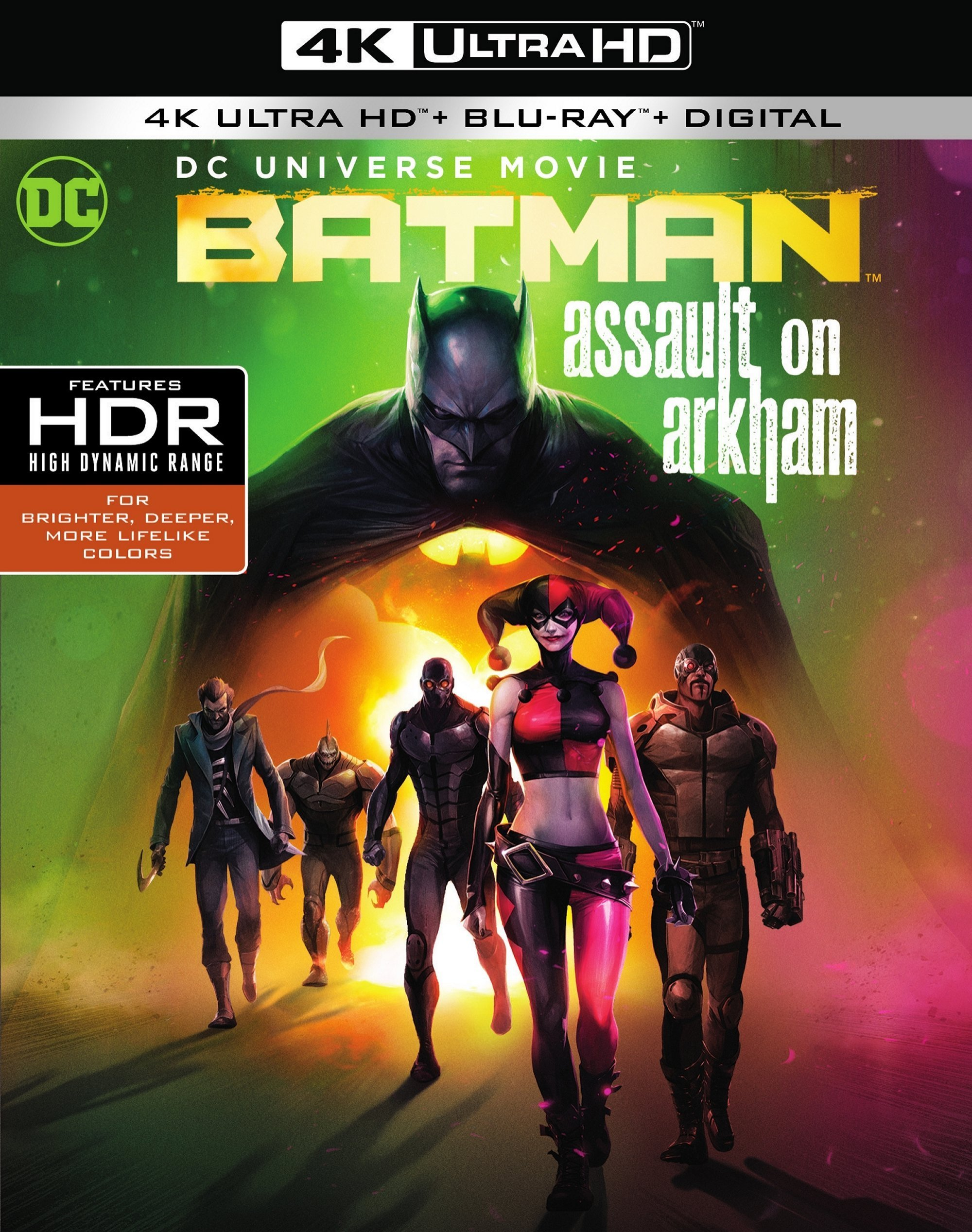 Batman: Assault on Arkham (2014) 4K Ultra HD Blu-ray