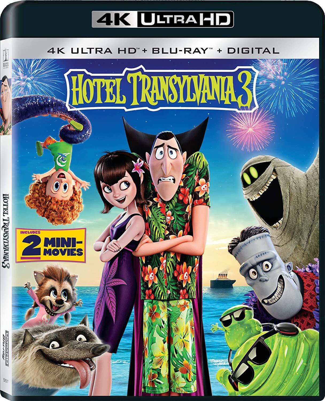 Hotel Transylvania 3 4K (2018) Ultra HD Blu-ray