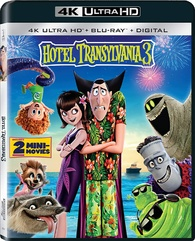 Hotel Transylvania 3 Summer Vacation 4k Blu Ray Monster Party Edition