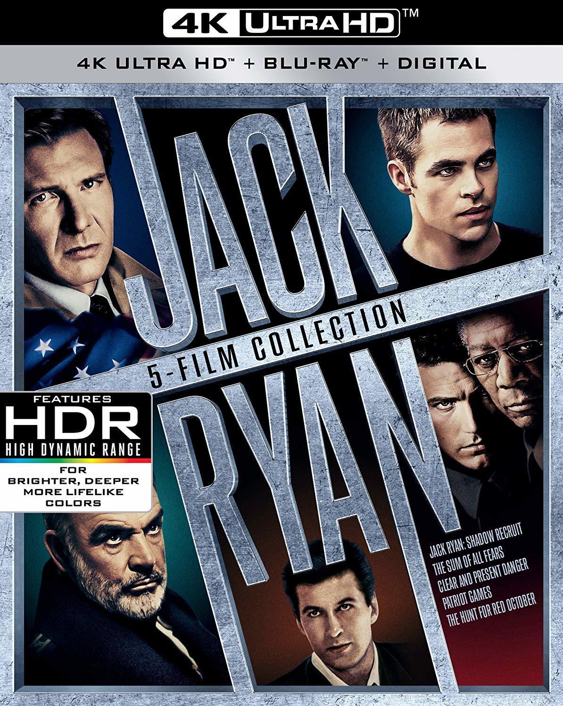 Jack Ryan: 5-Film Collection 4K Ultra HD Blu-ray