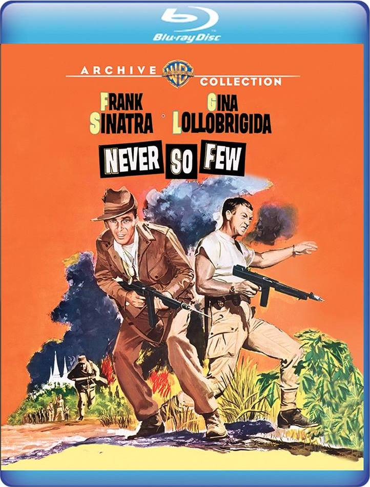 Never So Few (Warner Archive Collection)(Blu-ray)(Region Free)