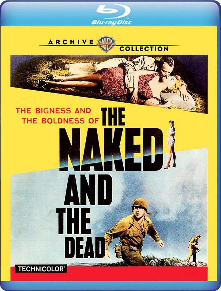 The Naked and the Dead (Warner Archive Collection)(Blu-ray)(Region Free)