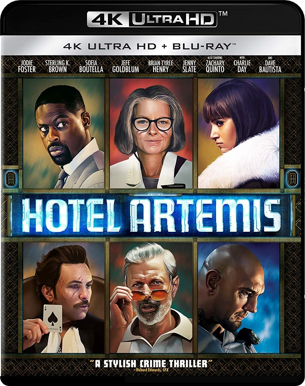 Hotel Artemis 4K (2018) Ultra HD Blu-ray
