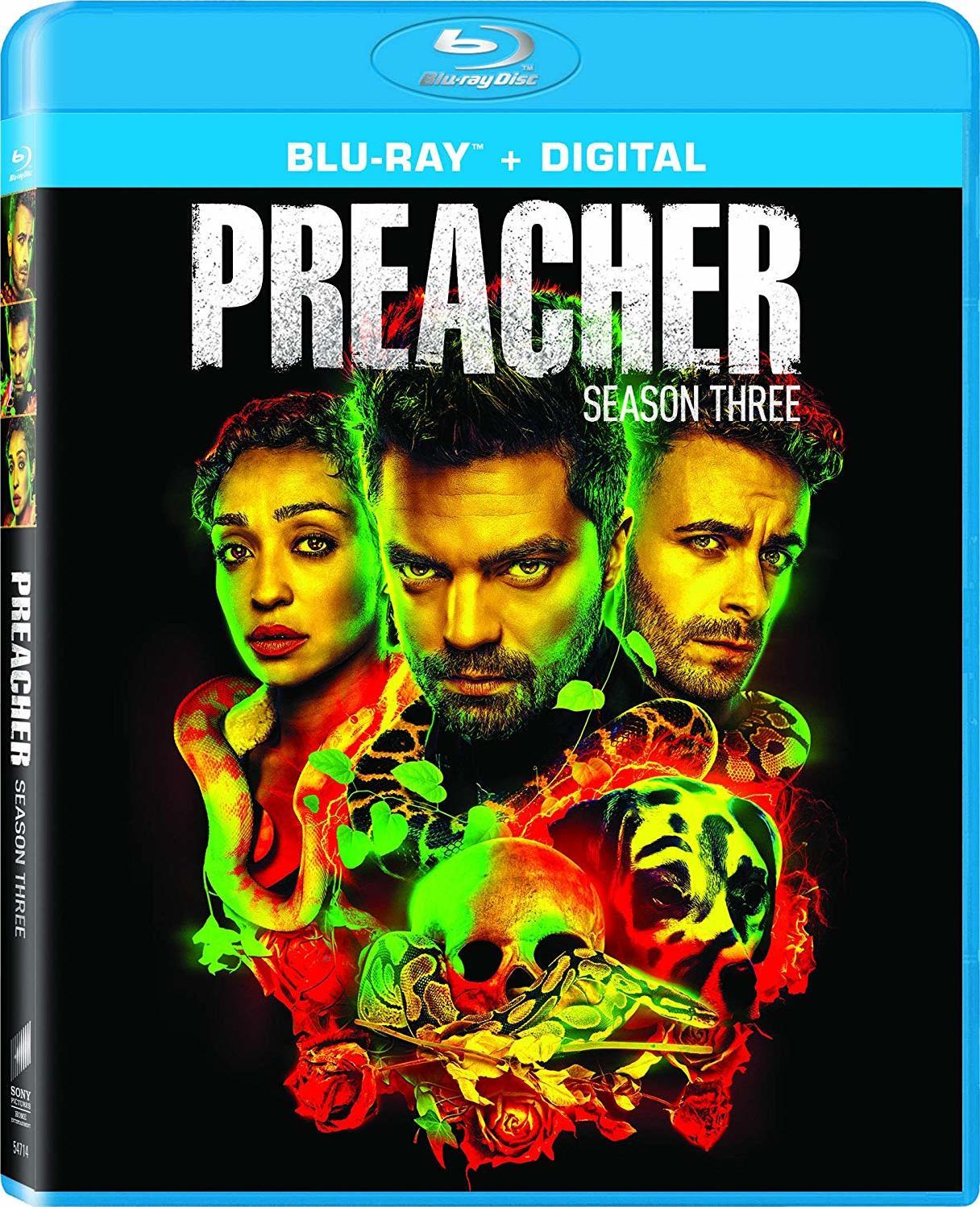 Preacher: Season Three (Blu-ray)(Region A)