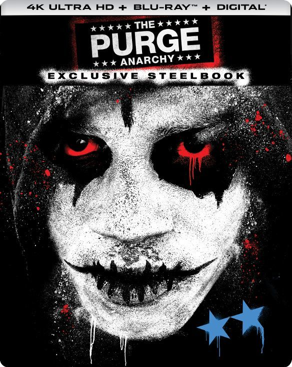 The Purge 2: Anarchy 4K (SteelBook)(2014) Ultra HD Blu-ray
