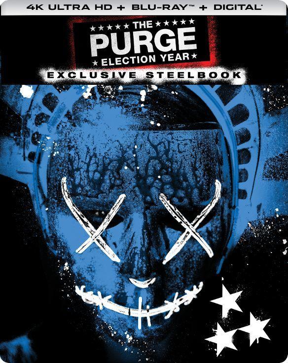The Purge 3: Election Year (SteelBook)(2016) Ultra HD Blu-ray