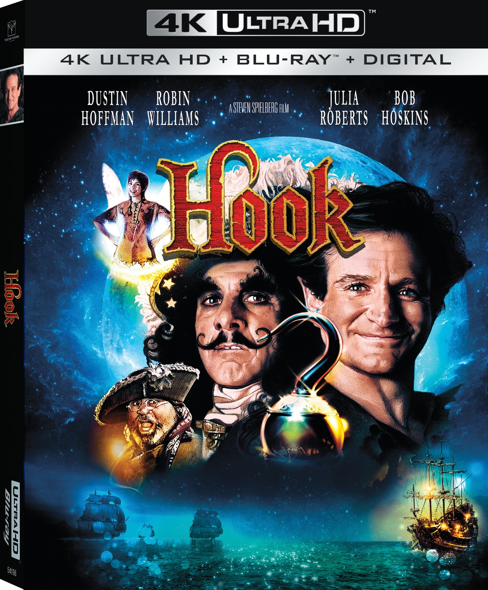 Hook 4K (1991) Ultra HD Blu-ray