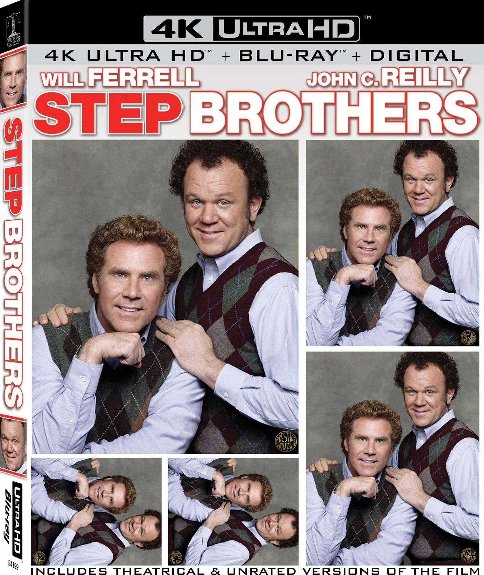 Step Brothers 4K (2008) Ultra HD Blu-ray