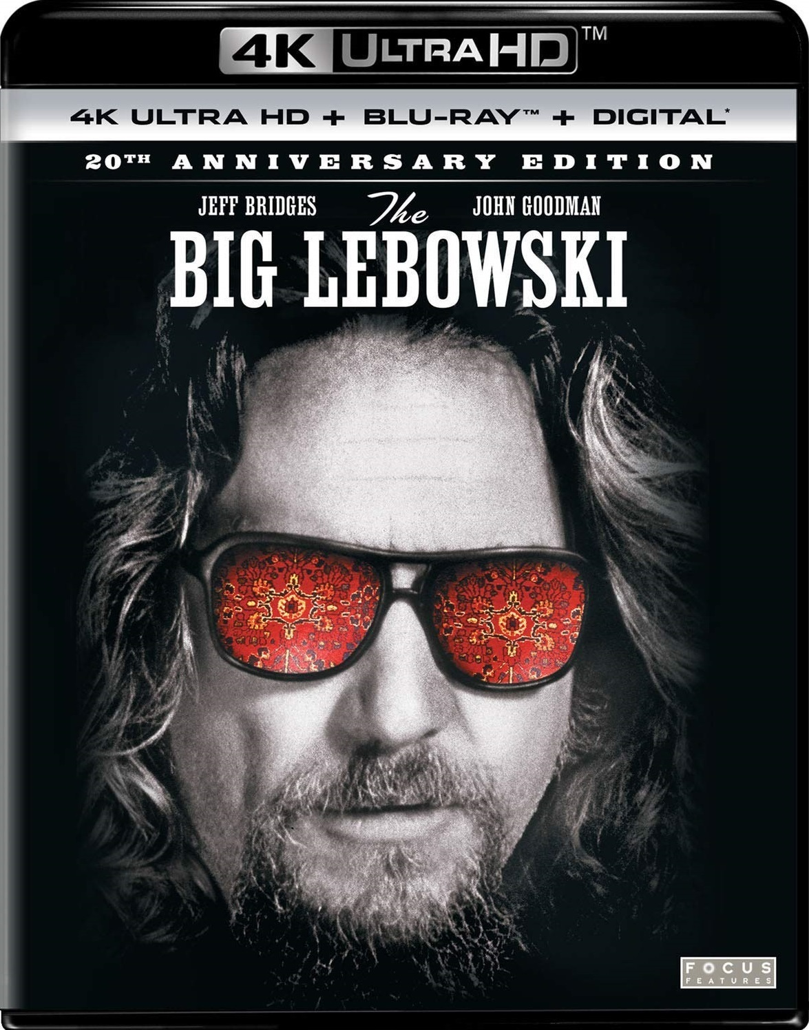The Big Lebowski 4K (20th Anniversary Edition)(1998) Ultra HD Blu-ray
