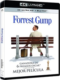 Forrest Gump 4K (Blu-ray) Temporary cover art