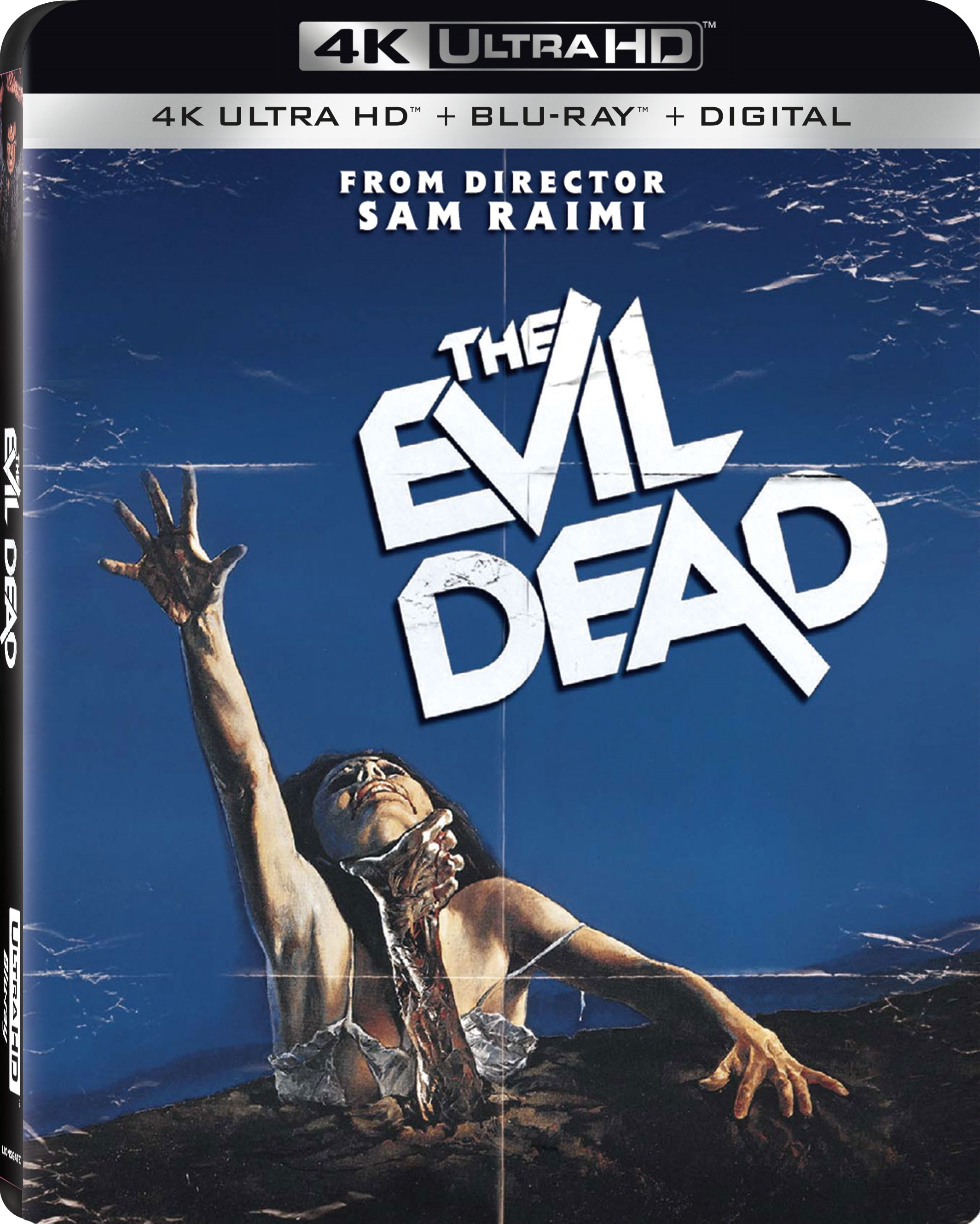 The Evil Dead 4K (1981) Ultra HD Blu-ray