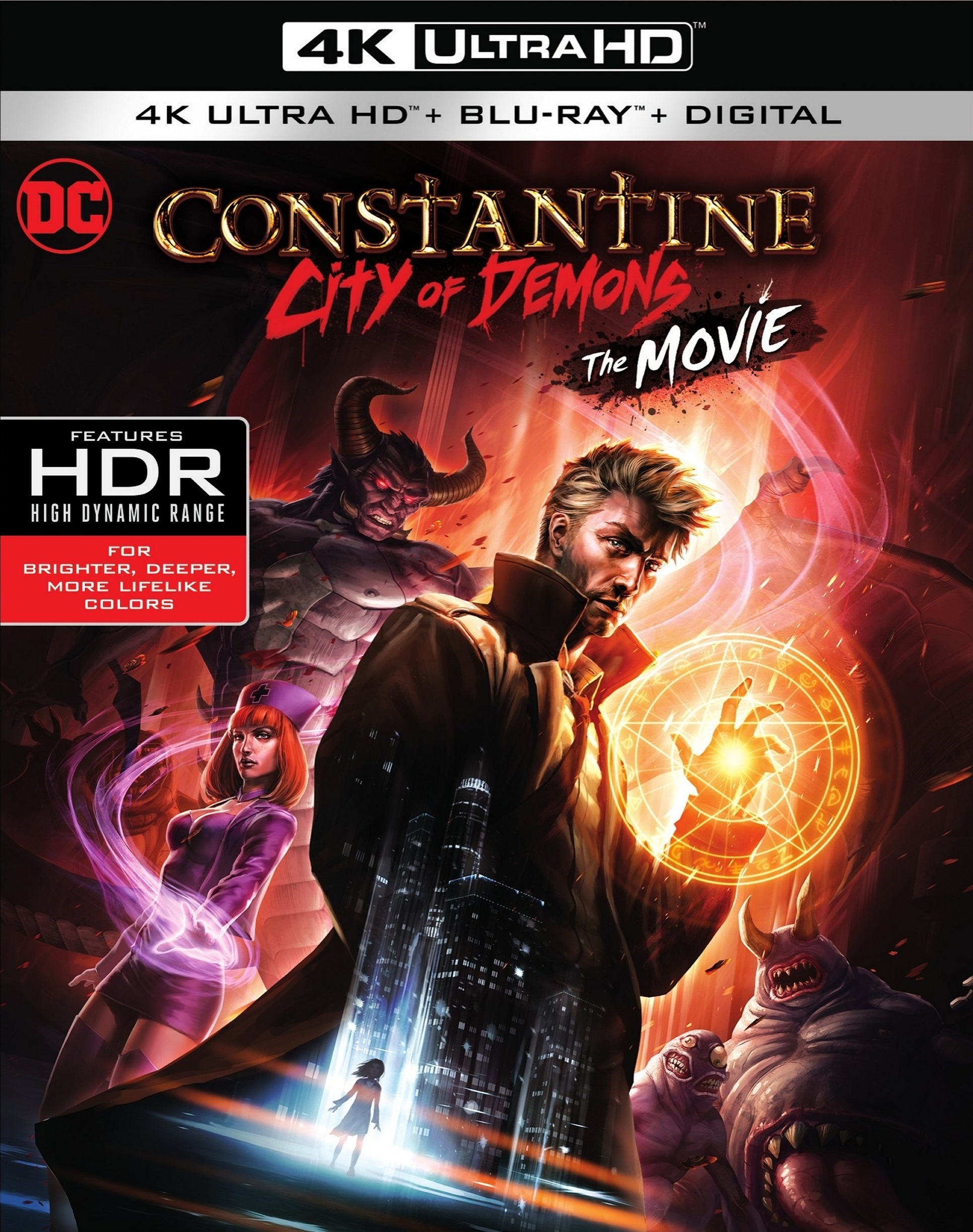 Constantine: City of Demons (2018) 4K Ultra HD Blu-ray