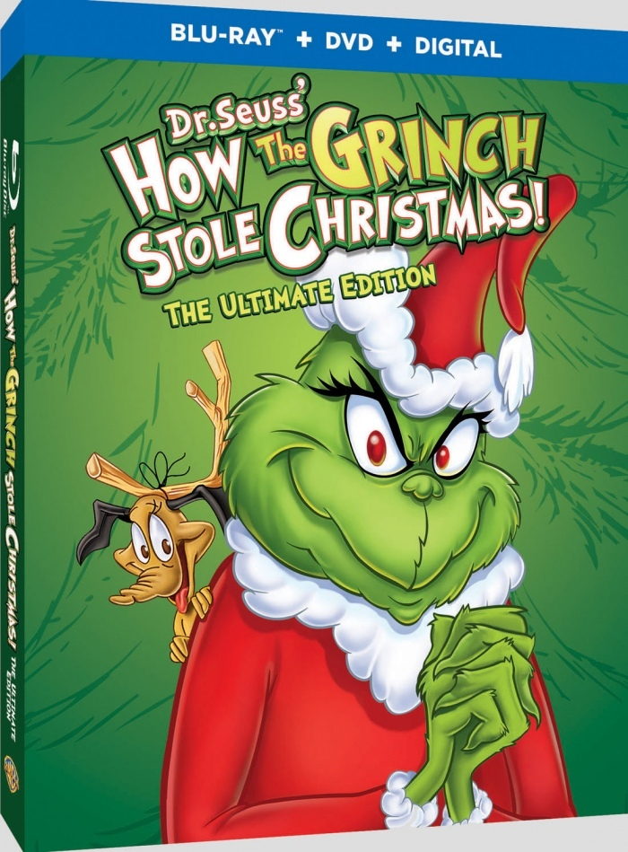 How the Grinch Stole Christmas (The Ultimate Edition)(Blu-ray)(Region Free)