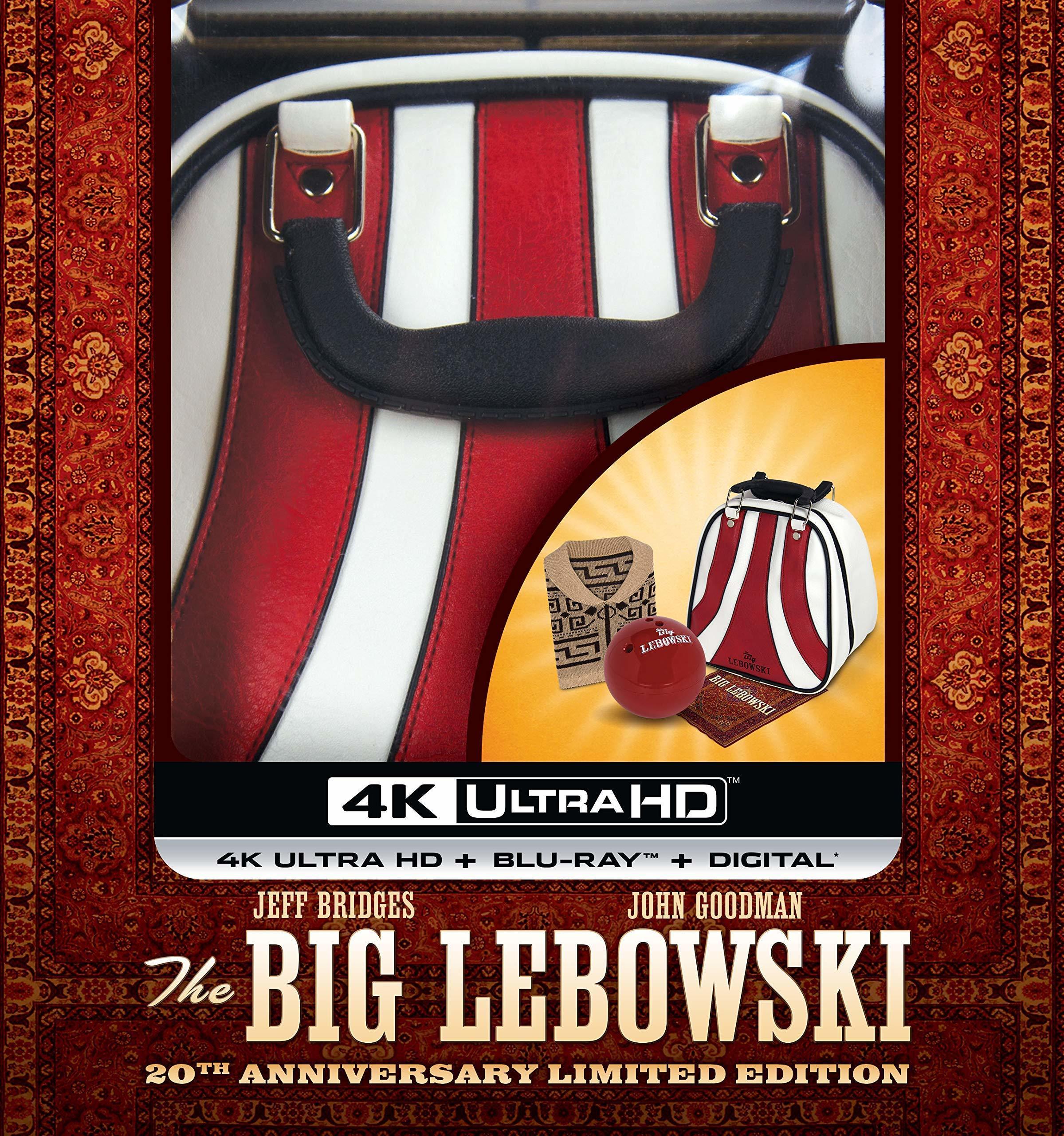 The Big Lebowski 4K (20th Anniversary Limited Bowling Ball Edition)(1998) 4K Ultra HD Blu-ray