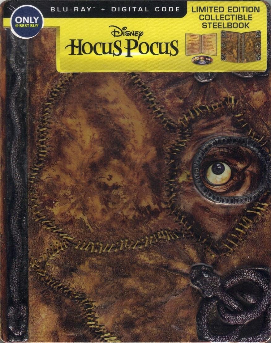 Hocus Pocus (SteelBook)(Blu-ray)(Region Free)