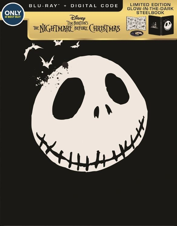 The Nightmare Before Christmas (SteelBook)(Blu-ray)(Region Free)