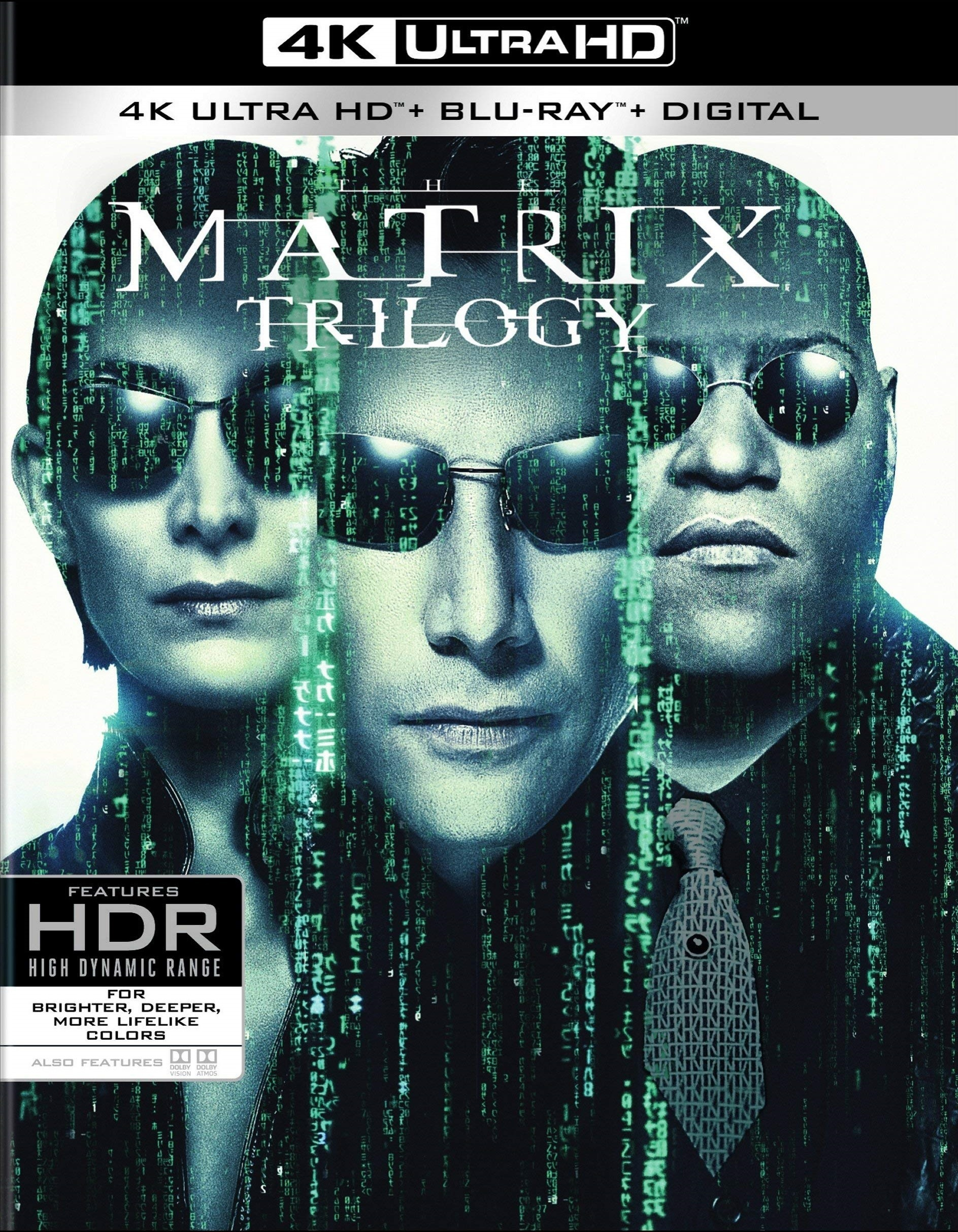 The Matrix Trilogy 4K (1999-2003) 4K Ultra HD Blu-ray