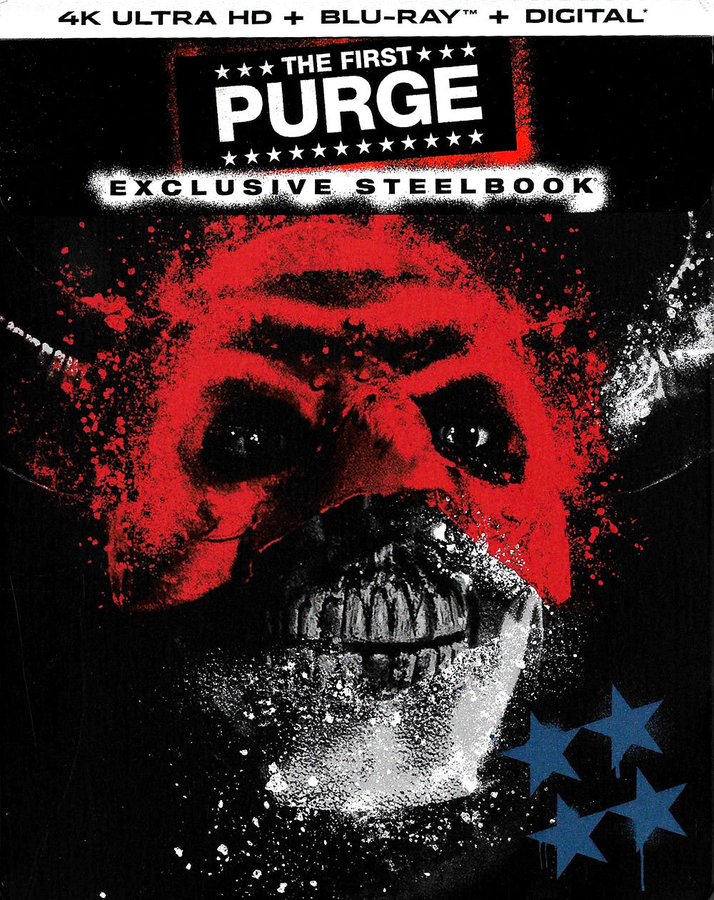 The First Purge 4K (SteelBook)(2018) Ultra HD Blu-ray
