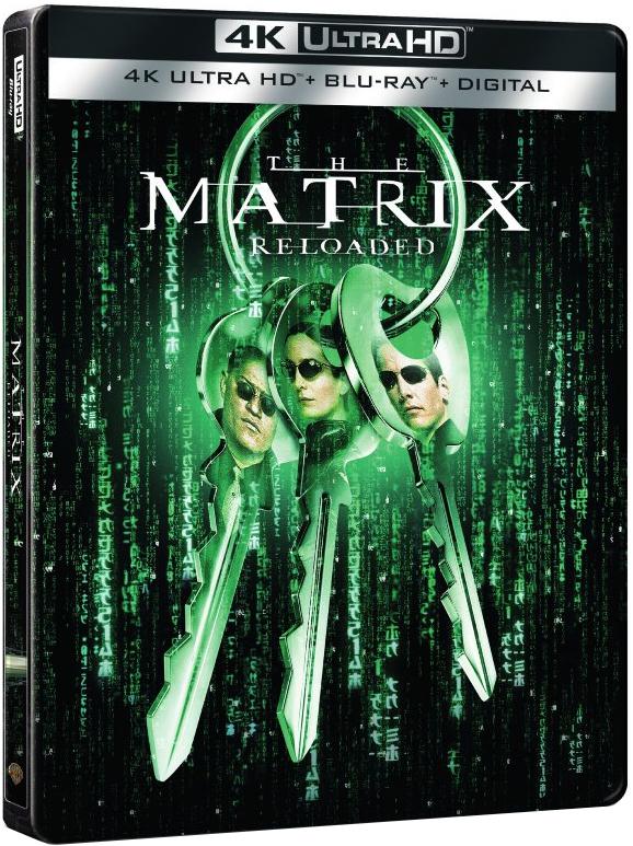 The Matrix 2: Reloaded 4K (SteelBook)(2003) Ultra HD Blu-ray