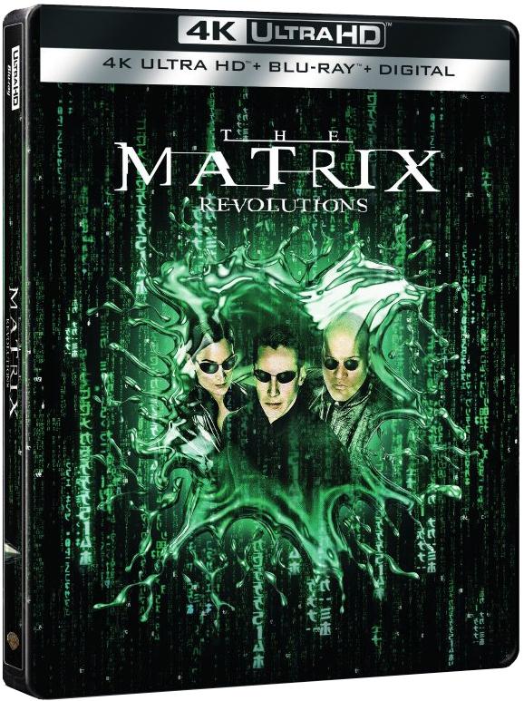 The Matrix 3: Revolutions 4K (SteelBook)(2003) Ultra HD Blu-ray