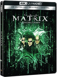 The Matrix Revolutions 4K (Blu-ray) Temporary cover art