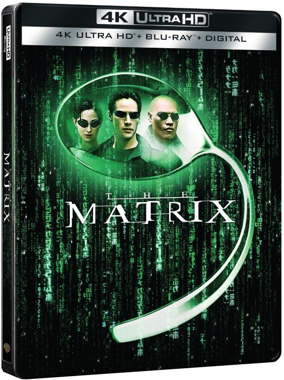 The Matrix 4K (SteelBook)(1999) Ultra HD Blu-ray