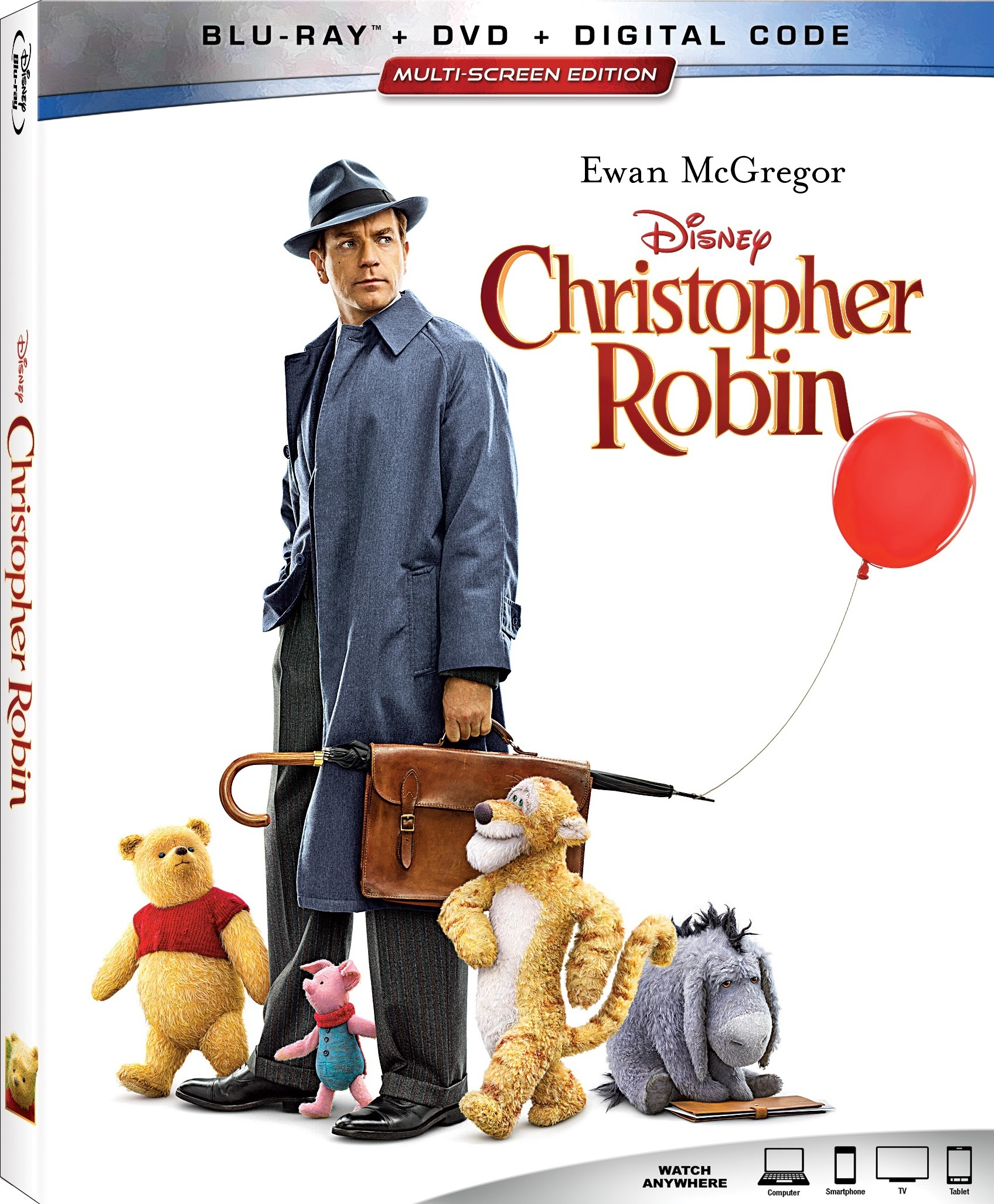 Christopher Robin (Blu-ray)(Region Free)