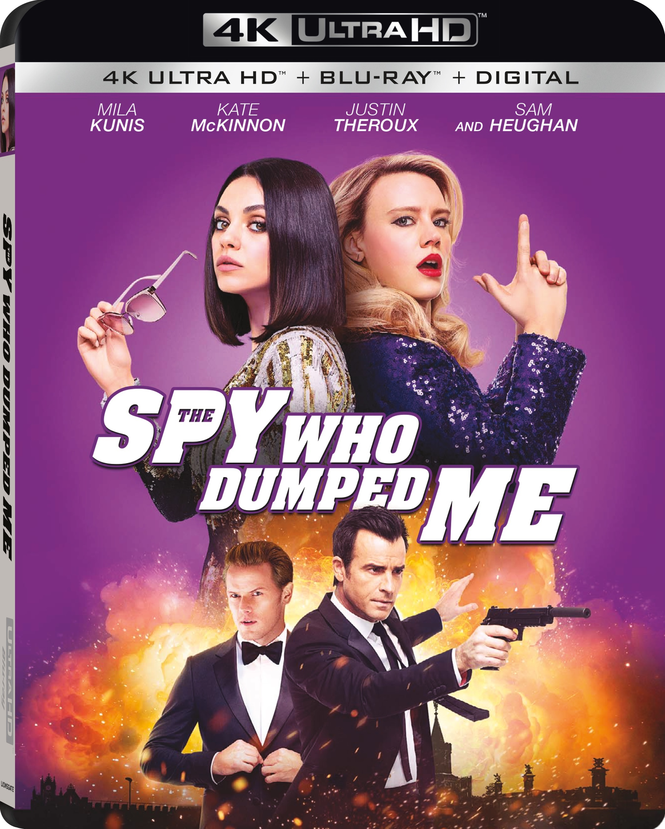 The Spy Who Dumped Me 4K (2018) Ultra HD Blu-ray