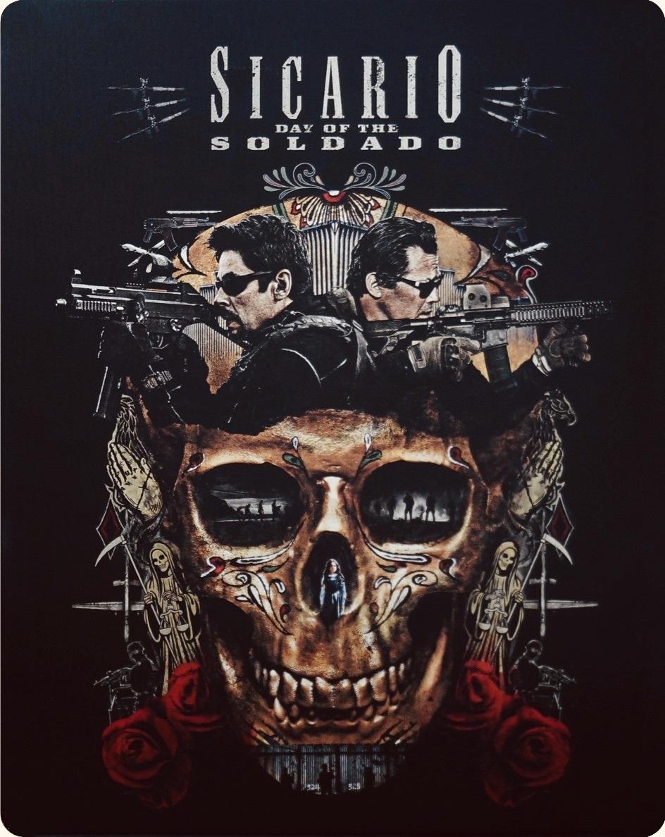 Sicario: Day of the Soldado (SteelBook)(2018) 4K Ultra HD Blu-ray