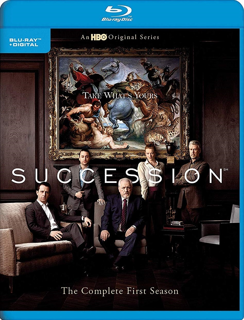 Succession: Season 1 (Blu-ray)(Region Free)