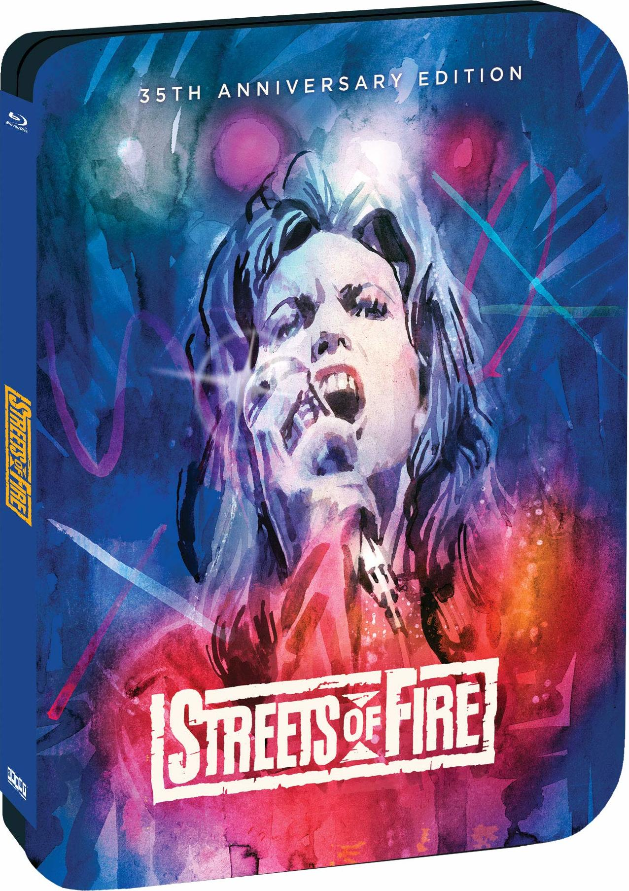 Streets of Fire (Limited 35th Anniversary Edition Steelbook)(Blu-ray)(Region A)