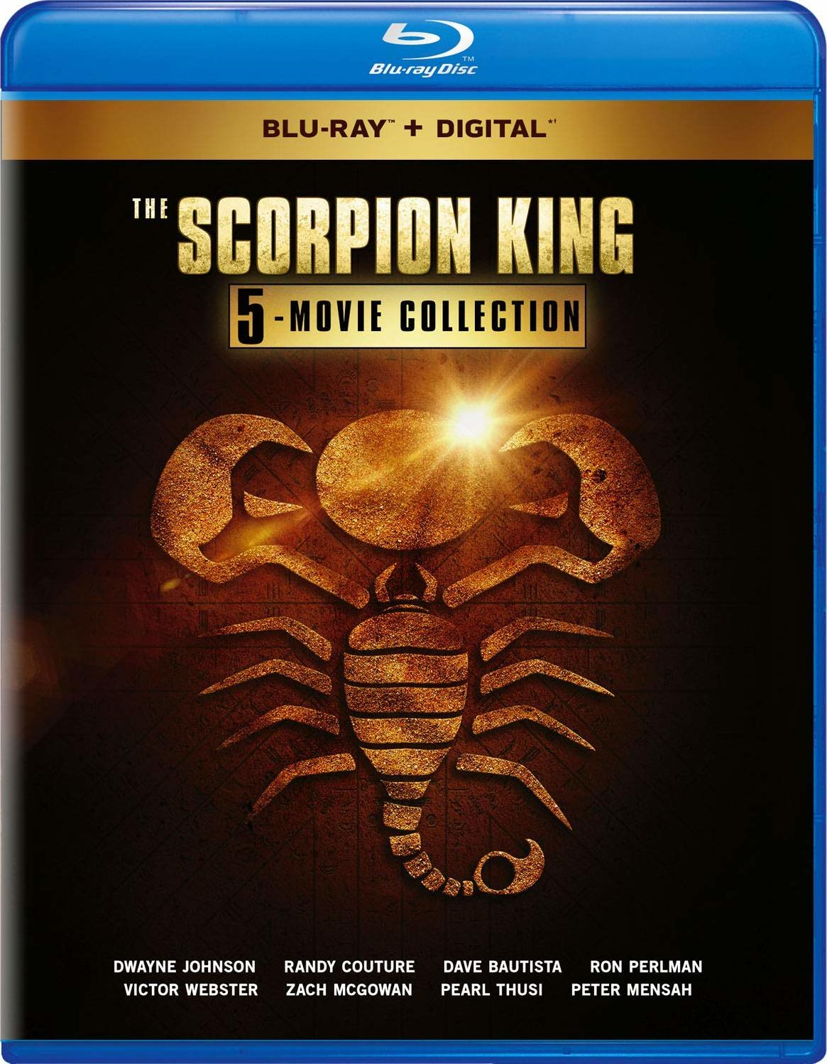 Scorpion King: 5-Movie Collection (Blu-ray)(Region Free)