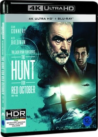 The Hunt For Red October 4k Blu Ray Release Date September 7 2018 ˶‰ì€ 10월 South Korea