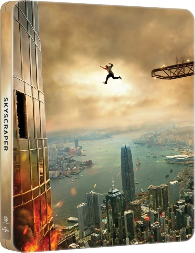 Skyscraper (SteelBook)(2018) 4K Ultra HD Blu-ray