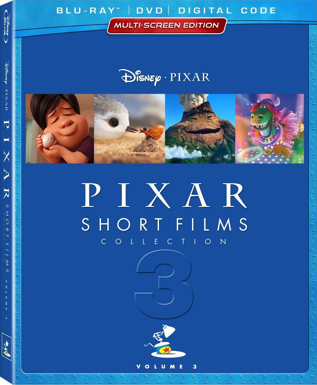 Pixar Short Films Collection: Vol. 3 (Blu-ray)(Region Free)