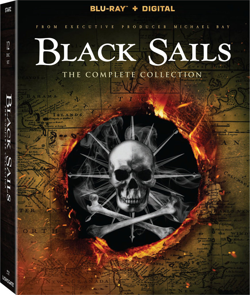 Black Sails: The Complete Collection (Blu-ray)(Region A)