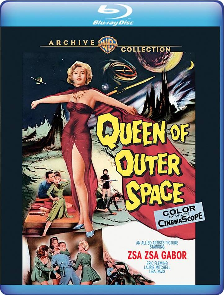 Queen of Outer Space (Warner Archive Collection)(Blu-ray)(Region Free)