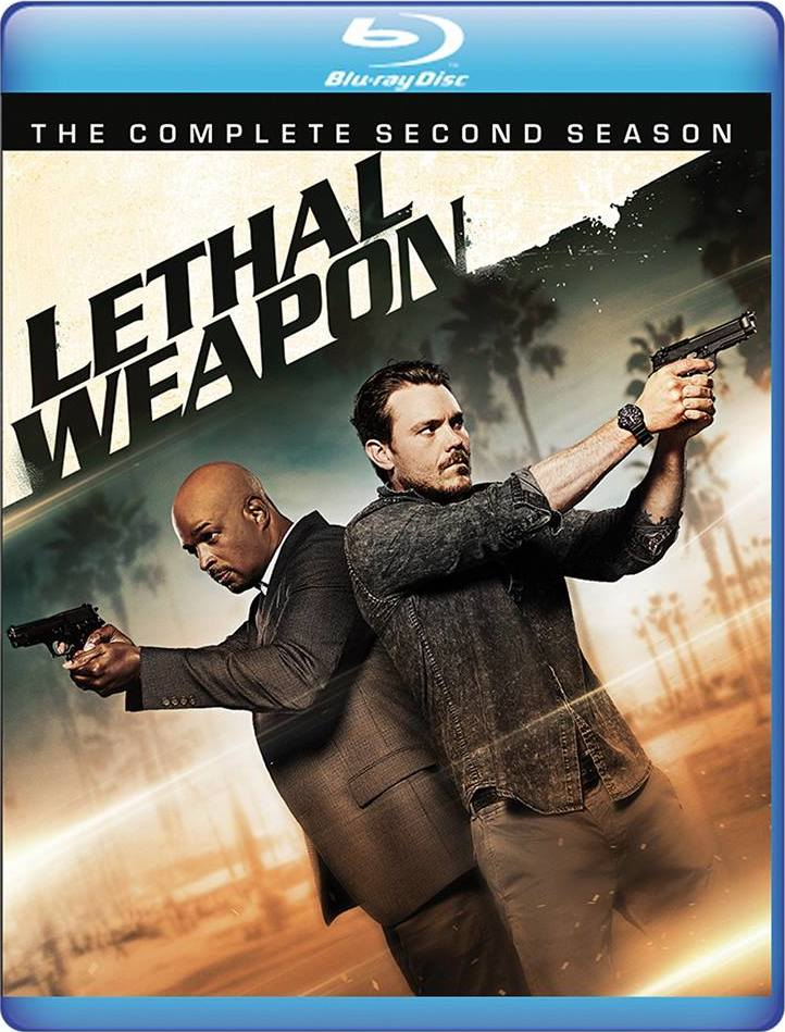 Lethal Weapon: The Complete Second Season (Warner Archive Collection)(Blu-ray)(Region Free)