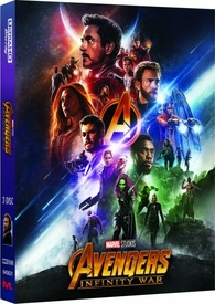 Avengers Infinity War 4k Blu Ray Limited Edition Lenticular Hardbox With Artcards And Gallery Book Hong Kong