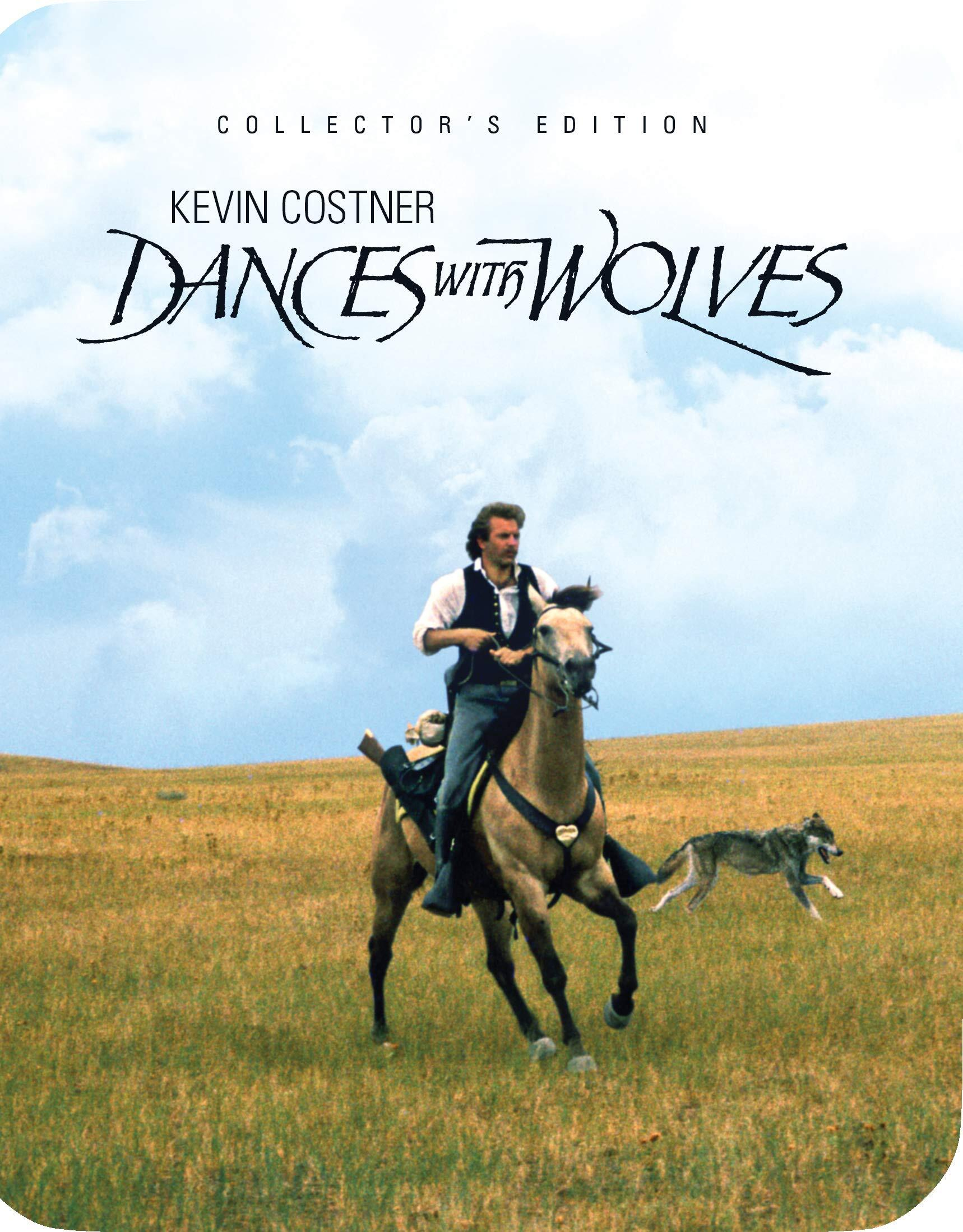 Dances with Wolves (Limited Edition Steelbook)(Blu-ray)(Region A)